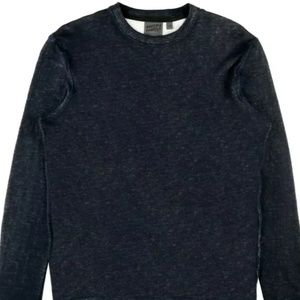 Naked and Famous Denim Slim Crew Sweater!